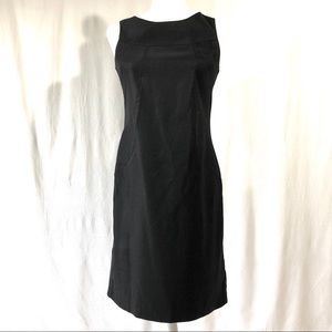 AGB Dress Sleeveless Black Fitted Sheath Dress